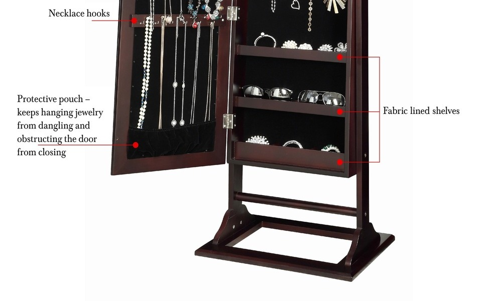 jewelry armoire  vanity mirror lights  organizer vanity mirror with lights storage cabinet