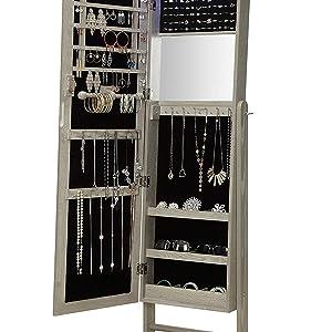 standing jewelry cabinet vanity jewelry armoire with mirror standing jewelry armoire standing jewelr