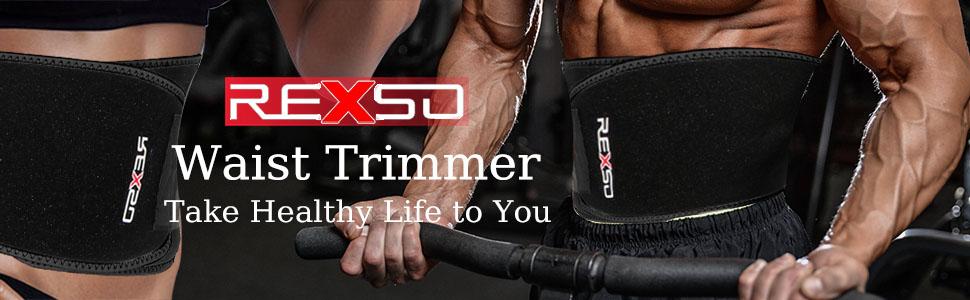 f0b4775f71055 Amazon.com  REXSO Waist Trimmer Men Women - Waist Cincher Trimmer ...