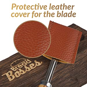 bread bosses bread lame leather blade cover