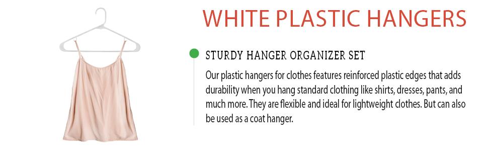 hangers plastic hangers cloths hangers white plastic hangers
