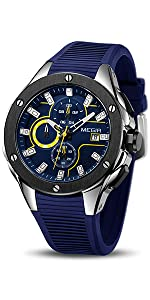 MN-2053 sport watches for men megir ...