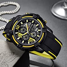 megir sport watches for men
