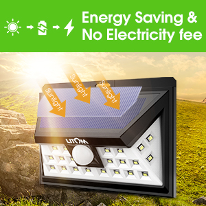 Energy Saving Solar Lights