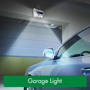 garage solar lights
