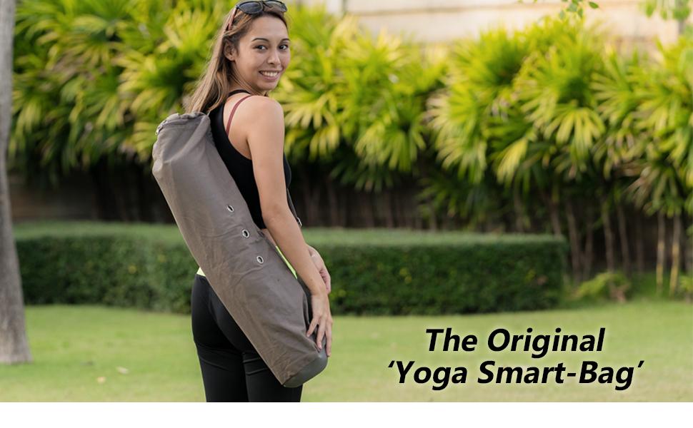 Meru Yoga Mat Bag - Yoga Bags and Carriers for Women and Men – The Original Yoga Mat Carrier. Premium Yoga Mat Holder