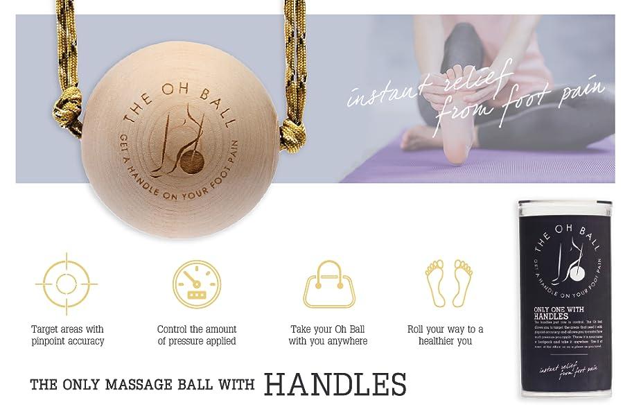 Amazon.com: Oh Ball Premium Massage Ball Roller-Effective ...