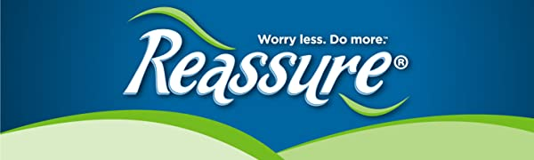 Reassure, Incontinence, Comfort, Bladder Control, Urine Leakage, Skin Soft Lining, Gel Dry Polymer