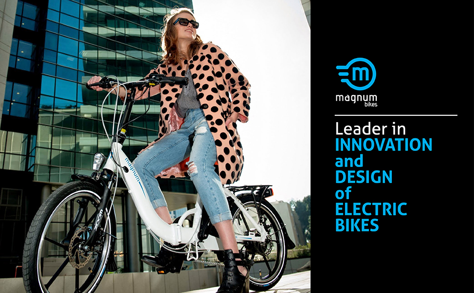 magnum bikes leader in innovatioin and design of electric bikes