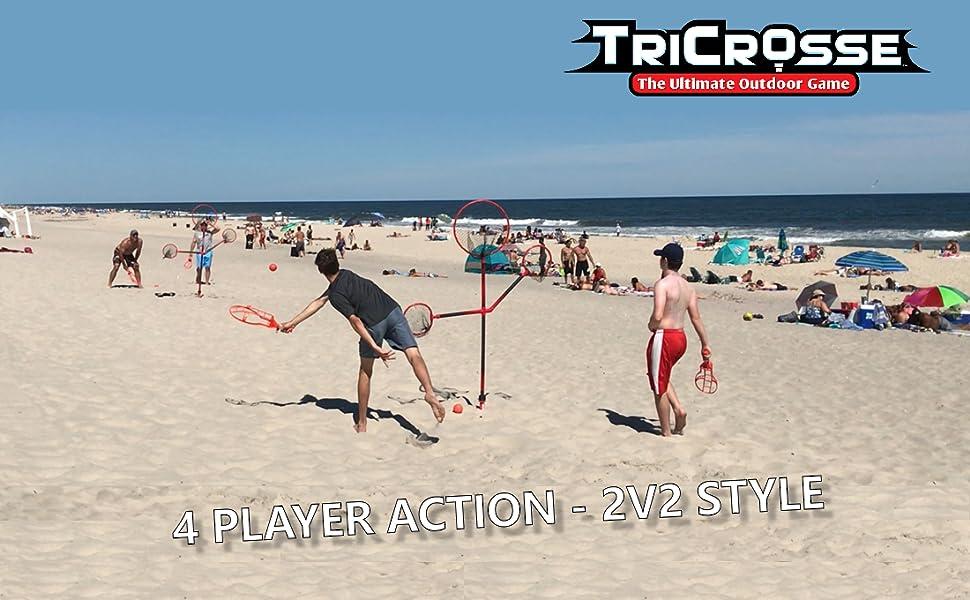 TriCrosse - 2v2