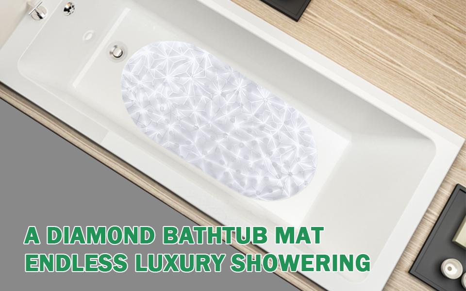 Amazon.com: Wimaha Non-slip Bathtub Mat Eco-friendly PVC Anti ...