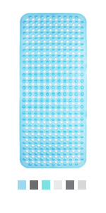 Morbuy Impresi/ón Alfombrilla PVC Estera con Ventosas Fuertes Antibacterial Duradera Antideslizante 70 x 35cm 70cm x 35cm,A Alfombra Ba/ño Antideslizante para Ducha o Ba/ñera