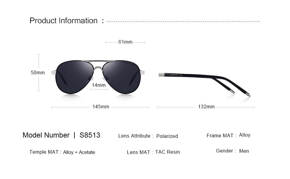 Amazon.com: MERRYS, UV400 S8513, gafas de sol polarizadas ...