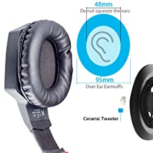 Protein leather earmuffs