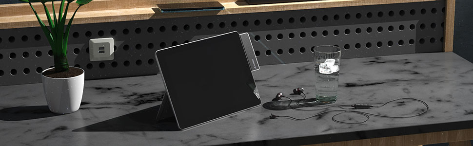Surface Go USB HUB HDMI 4K AUX USB-C Power Delivery Charger adapter hub