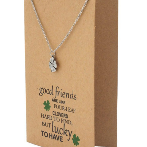 gifts for girls bff women quan jewelry four leaf clover heart