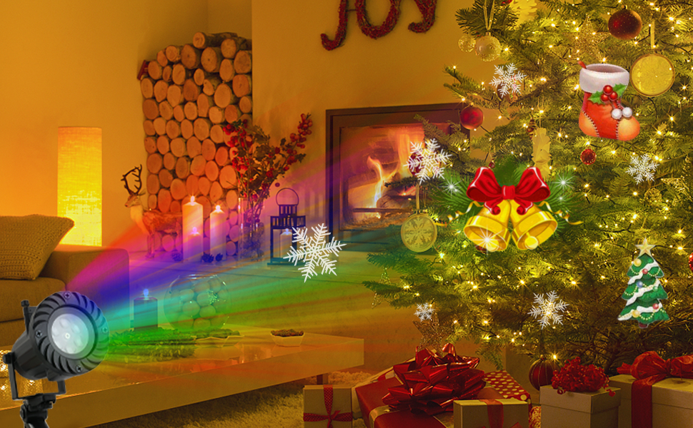 This projector lights as Ideal gift may exceed your imagination. It creates  a festival atmosphere all year round! Brings you an unforgettable fantastic  ... - Amazon.com: Hip Mall Christmas Lights, Decorations Lights Projector