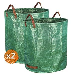 Amazon.com: Gardzen - Bolsa de basura reutilizable para ...