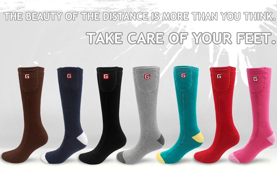 feet warmers rechargeable battery warming socks volt heated socks motorcycle gear