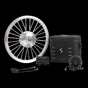Swytch eBike Conversion Kit | 50 Mile Range 250W e-Bike Kit | Converts 99%  of Bikes into a State-of-The Art Electric Bike