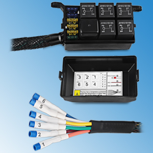 waterwich 6 gang switch panel electronic relay. Black Bedroom Furniture Sets. Home Design Ideas