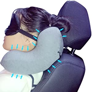 memory foam travel pillow