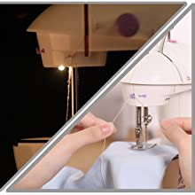 Lamp and Thread Cutter