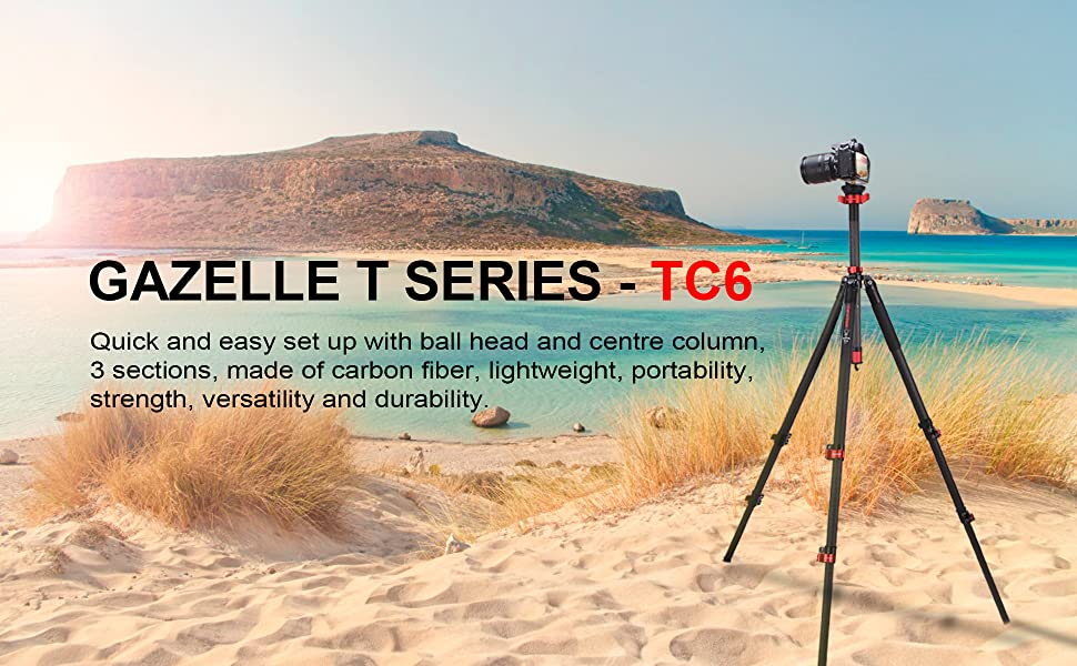 Gazelle T Series Tripod - TC6