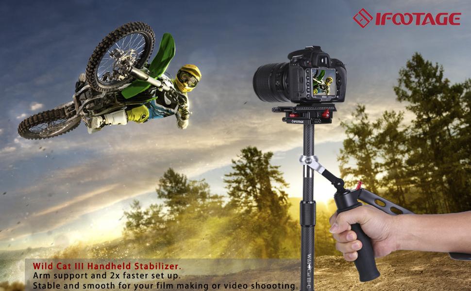 IFOOTAGE Handheld Camera Stabilizer WildCat III