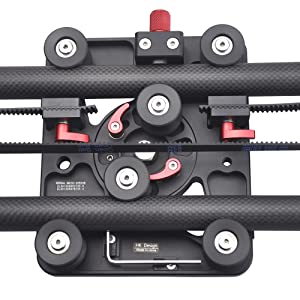 Correct Rail Pulley Tension