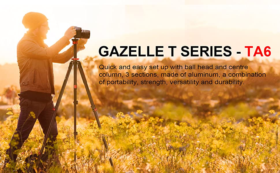 Gazelle T Series Tripod - TA6