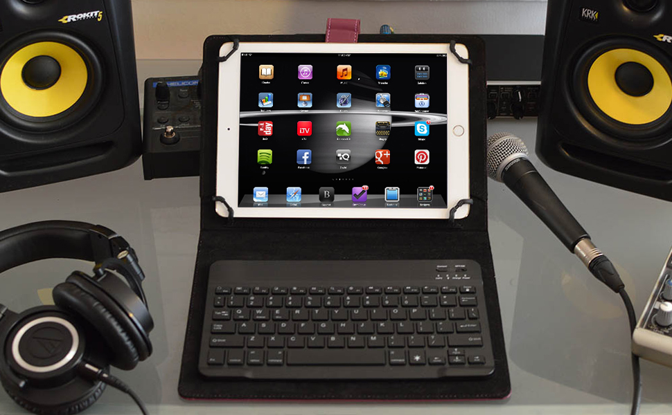 Amazon.com: Funda con teclado Cooper Cases para tableta ...
