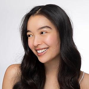 asian girl smile