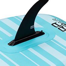 Balance paddle board skeg