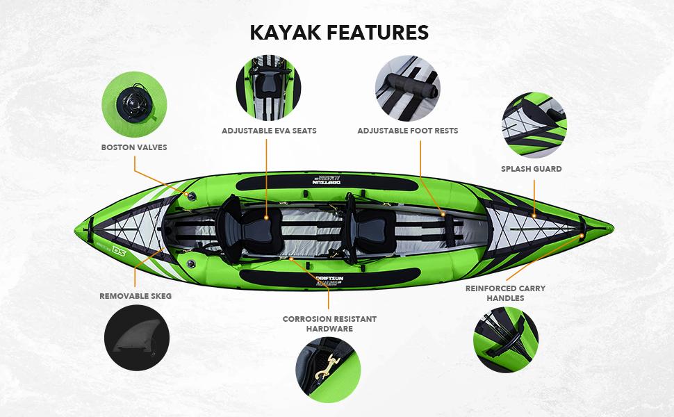Almanor 130 Kayak, Hull Features