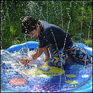 sprinkler for kids outside toys water water toys for toddlers summer toys mat niv