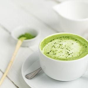 culinary matcha recipes, matcha latte ingredients and instructions
