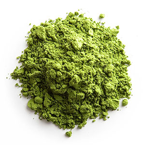 culinary grade matcha as ideal powder for use in smoothies, lattes, other recipes