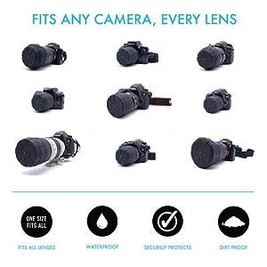 Digislider lens cap fits any lens from 60-110mm in diametre