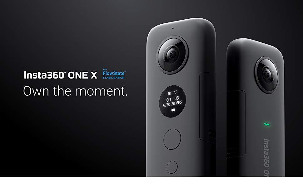 Insta360, OneX, Flowstate Stabilization, Steady Camera