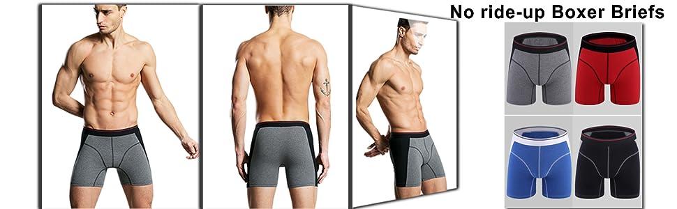 Men's Sport Boxer Briefs No fly Underwears