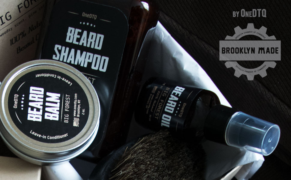 Beard growth grow care grooming kit set pack balm shampoo soap wash oil conditioner gift men brush