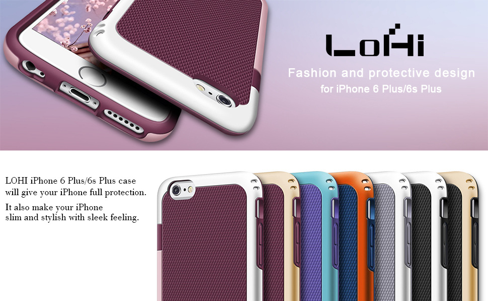 LOHI Iphone 6 plus case