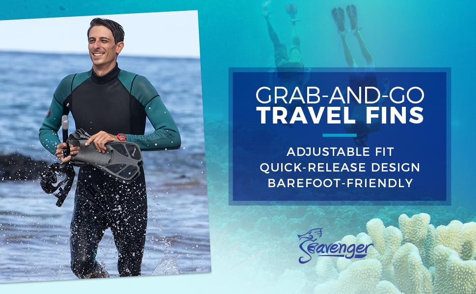 076f8dfd2ef Amazon.com   Seavenger Torpedo Swim Fins