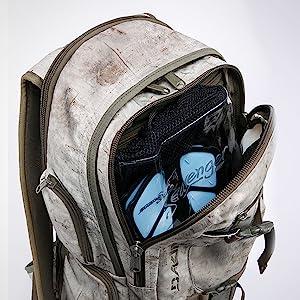 Seavenger trek fins, grab-and-go pack, travel-friendly