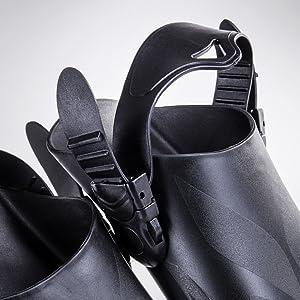 Seavenger trek fins, adjustable straps