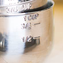 measuring cup close up
