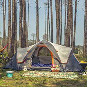 A10 6 Person Camping Tent