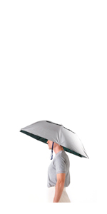 c1946a8236a78 Luwint 36 Diameter Double Layer Folding Compact UV Wind Protection Umbrella  Hat DreamsEden