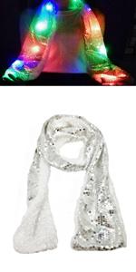 LED Flames Fireplace Hat · LED Sequin Scarf · LED Sequin Glove · LED  Butterfly Glove · LED Glasses · LED Octopus Hat 82d8fd4b3391